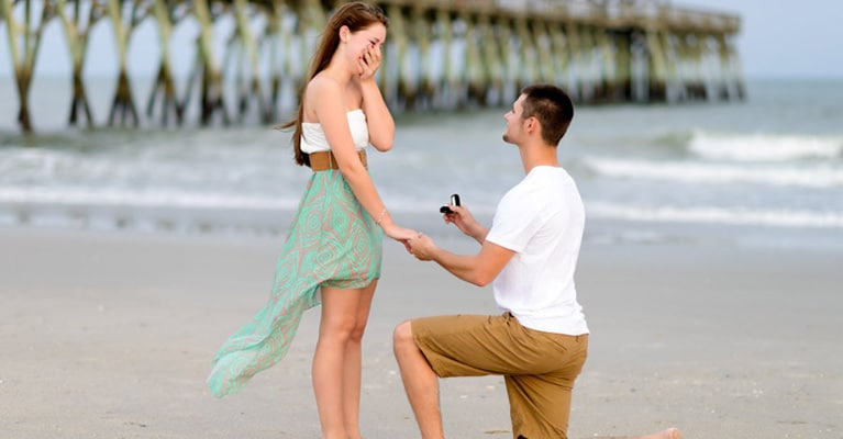 Propose in Jamaica