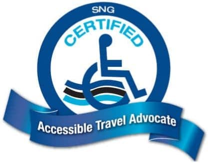 SNG Certified Accessible Travel Advocate Badge